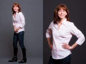 Author Regina Brett